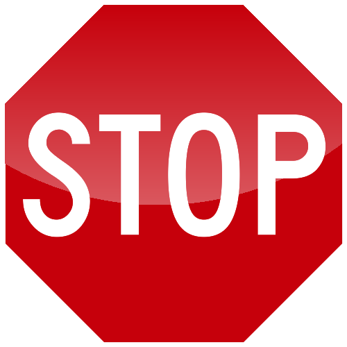 Stop Right Here