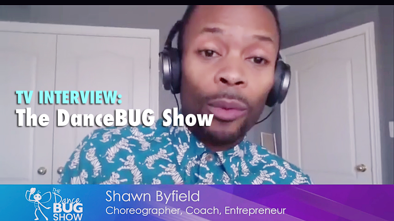 DanceBUG Show interviews Shawn Byfield